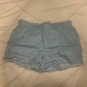 Calvin Kline chambray shorts!